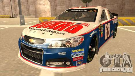 Chevrolet SS NASCAR No. 88 National Guard для GTA San Andreas