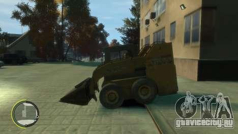 Погрузчик из BF3 для GTA 4 вид слева