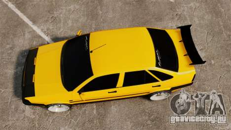 Fiat Tempra TR KeremAkca Edit для GTA 4 вид справа