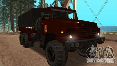 Краз Автошкола V.2.0 для GTA San Andreas вид слева