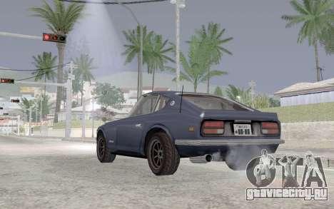 Nissan Fairlady Z AKUMA для GTA San Andreas вид сзади слева