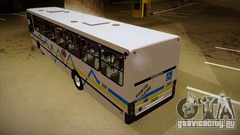 Busscar Urbanuss Ecoss MB OF 1722 M Porto Alegre для GTA San Andreas вид сзади