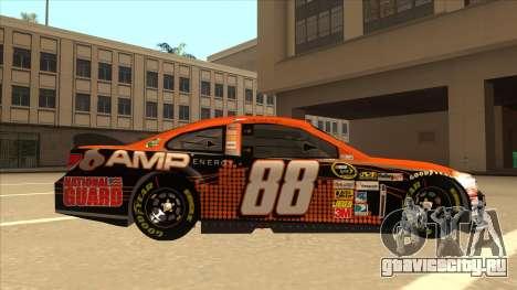 Chevrolet SS NASCAR No. 88 Amp Energy для GTA San Andreas вид сзади слева