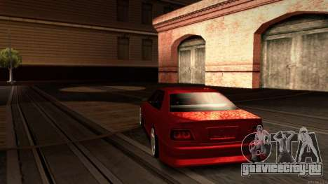 Toyota Chaser Tourer V для GTA San Andreas вид сзади