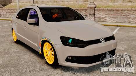 Volkswagen Gol G6 2013 Turbo Socado для GTA 4