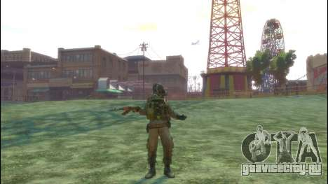 Русский солдат v 3.0 для GTA 4 пятый скриншот