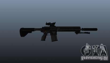 Автоматическая винтовка HK417 v1 для GTA 4 третий скриншот