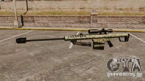 Снайперская винтовка Barrett M82 v8 для GTA 4 третий скриншот