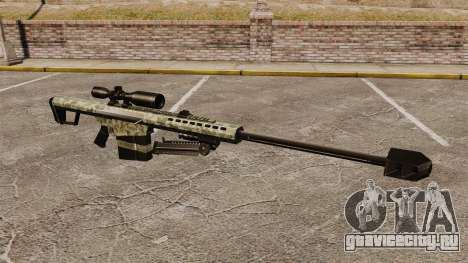 Снайперская винтовка Barrett M82 v8 для GTA 4