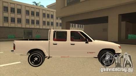Toyota Hilux 2004 для GTA San Andreas вид сзади слева