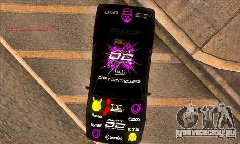 Elegy DC v1 для GTA San Andreas вид сзади