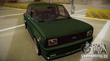 Fiat 128 Europe V Tuned для GTA San Andreas вид слева