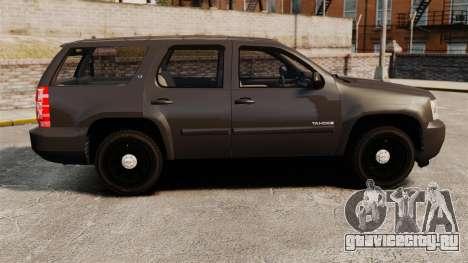 Chevrolet Tahoe Slicktop [ELS] v2 для GTA 4 вид слева