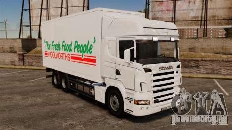 Scania R580 Tandem Woolworths для GTA 4