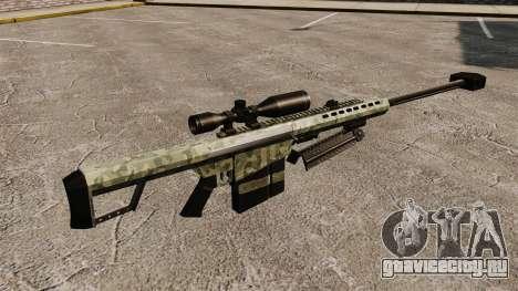 Снайперская винтовка Barrett M82 v6 для GTA 4 второй скриншот