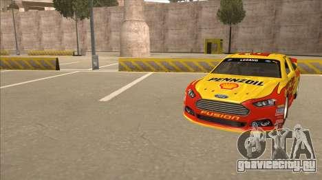 Ford Fusion NASCAR No. 22 Shell Pennzoil для GTA San Andreas