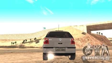 Volkswagen Polo 2.0 2005 для GTA San Andreas вид слева