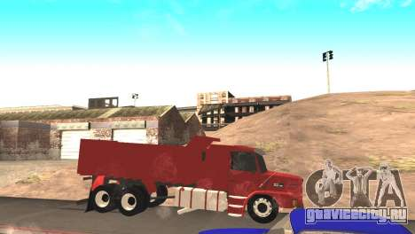 Scania 112HW для GTA San Andreas вид слева