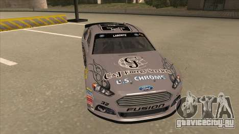 Ford Fusion NASCAR No. 32 C&J Energy services для GTA San Andreas вид слева