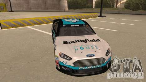 Ford Fusion NASCAR No. 43 Smithfield Foods для GTA San Andreas вид слева
