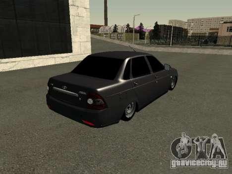ВАЗ 2170 для GTA San Andreas вид сзади слева