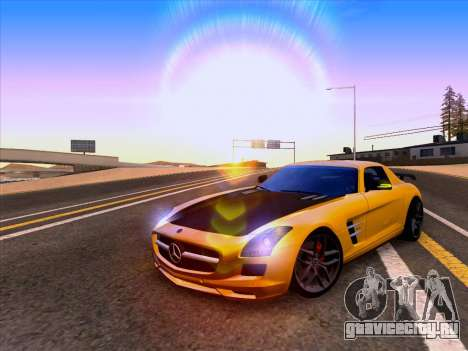 Mercedes-Benz SLS AMG GT 2014 Final Edition для GTA San Andreas вид сзади слева