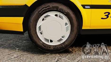 Fiat Tempra SX.A Turkish Taxi для GTA 4 вид справа