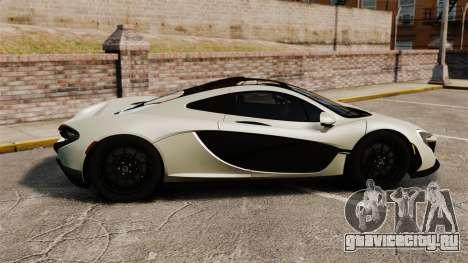 McLaren P1 [EPM] для GTA 4 вид слева