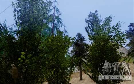 Новая растительность 2013 для GTA San Andreas девятый скриншот
