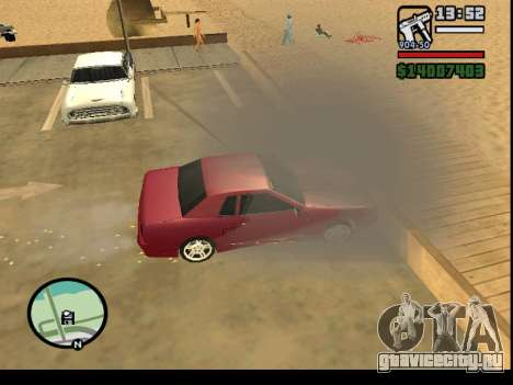 GTA V to SA: Burnout RRMS Edition для GTA San Andreas шестой скриншот