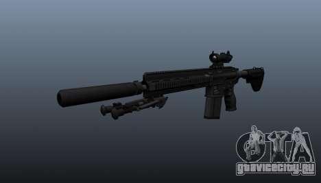 Автоматическая винтовка HK417 v1 для GTA 4