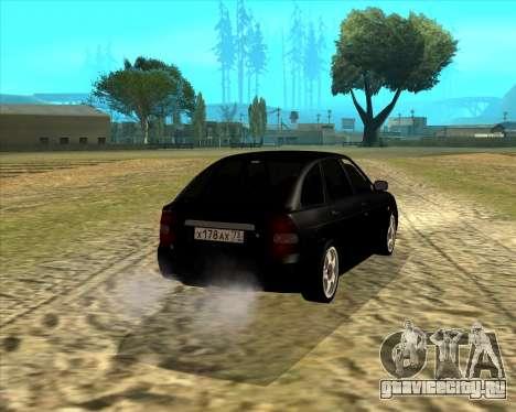 Ваз 2172 для GTA San Andreas вид слева