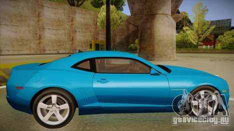 Chevrolet Camaro для GTA San Andreas вид сзади слева