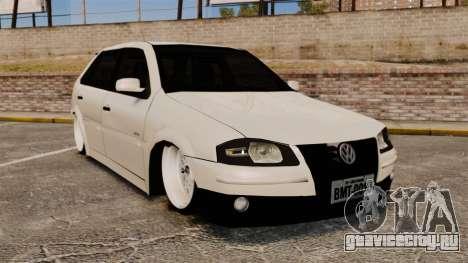 Volkswagen Gol G4 BBS для GTA 4
