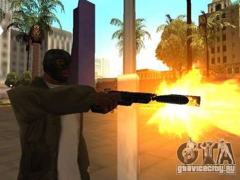WeaponStyles для GTA San Andreas седьмой скриншот