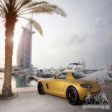 Загрузочные экраны Mercedes-Benz для GTA 4 четвёртый скриншот