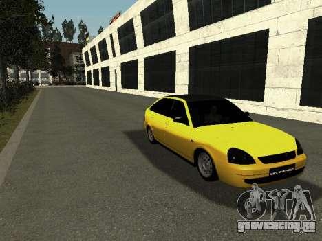 ВАЗ 2172 для GTA San Andreas вид справа