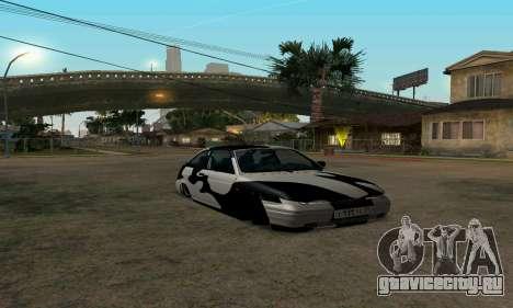 Лада 112 для GTA San Andreas вид сзади