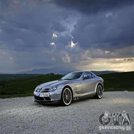 Загрузочные экраны Mercedes-Benz для GTA 4 шестой скриншот