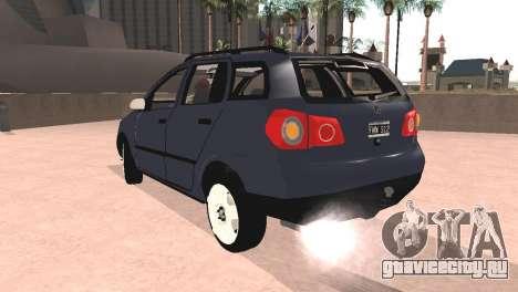 Volkswagen Suran для GTA San Andreas вид слева