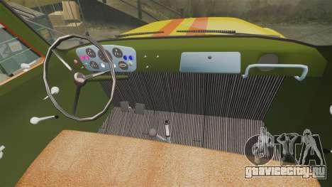 ГАЗ-52 Аварийная для GTA 4 вид изнутри