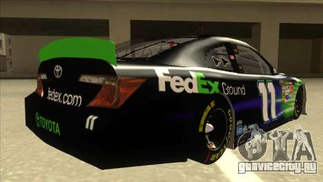 Toyota Camry NASCAR No. 11 FedEx Ground для GTA San Andreas вид справа