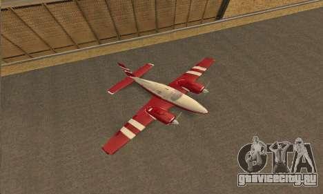 Rustler GTA V для GTA San Andreas вид сзади