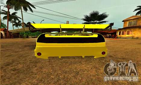 Infernus Cabrio Edition для GTA San Andreas вид справа