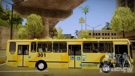 Busscar Urbanuss Ecoss MB OF 1722 M BHBUS для GTA San Andreas вид сзади слева