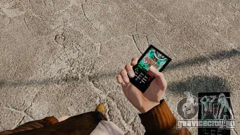 Темы для телефона Vampire The Masquerade для GTA 4 третий скриншот