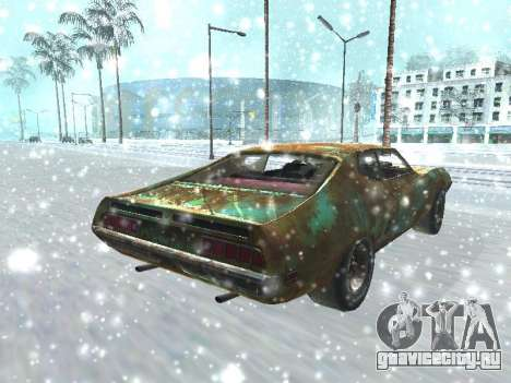 Ford Torino Rusty для GTA San Andreas вид сзади слева