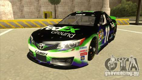 Toyota Camry NASCAR No. 11 FedEx Ground для GTA San Andreas