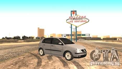 Volkswagen Polo 2.0 2005 для GTA San Andreas