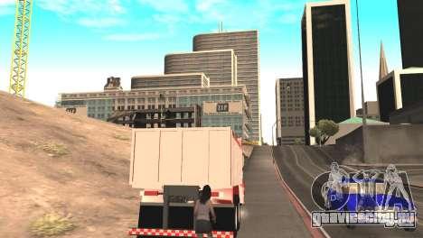 Scania 112HW для GTA San Andreas вид сзади слева